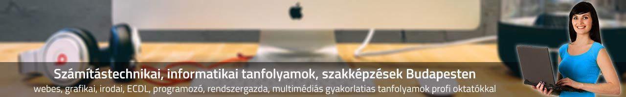 Számítástechnikai, informatikai tanfolyamok, szakképzések Budapesten