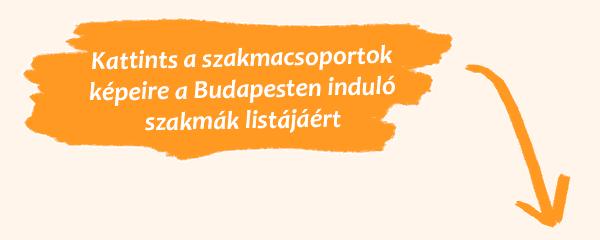 Kattints a szakmacsoportok képeire a Budapesten 2016-ban induló szakmák listájáért