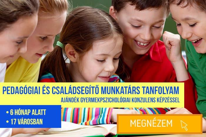 Pedagógiai- és családsegítő munkatárs képzés