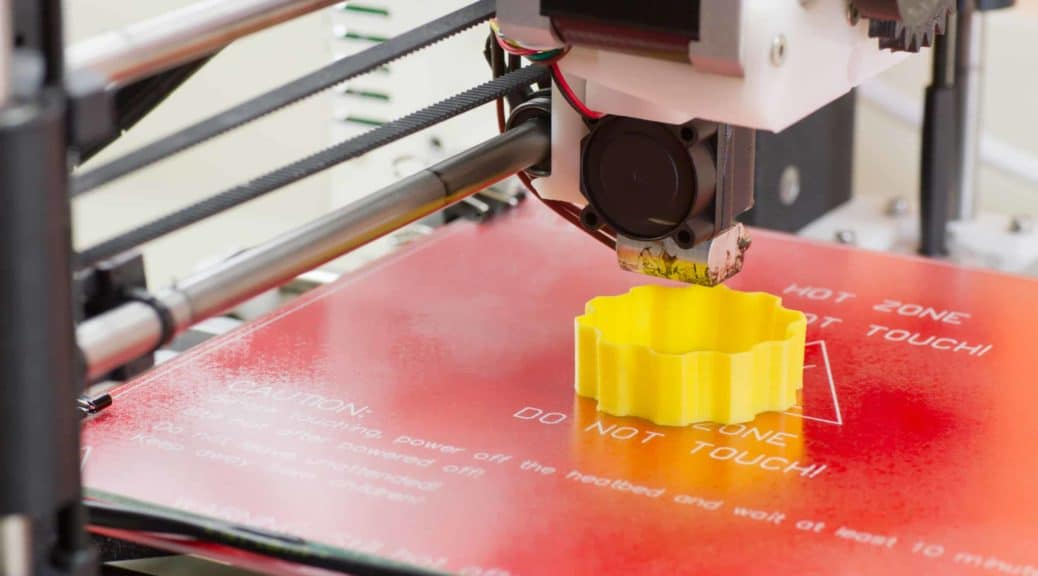 3D nyomtatás oktatás