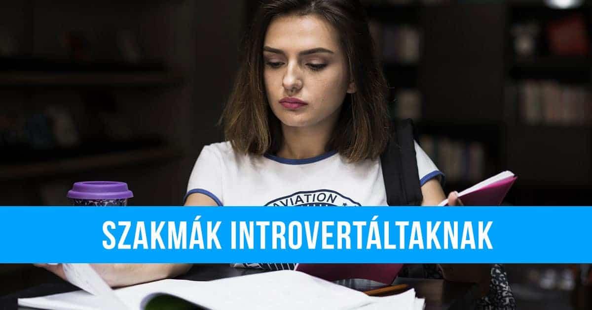 Szakmák introvertáltaknak