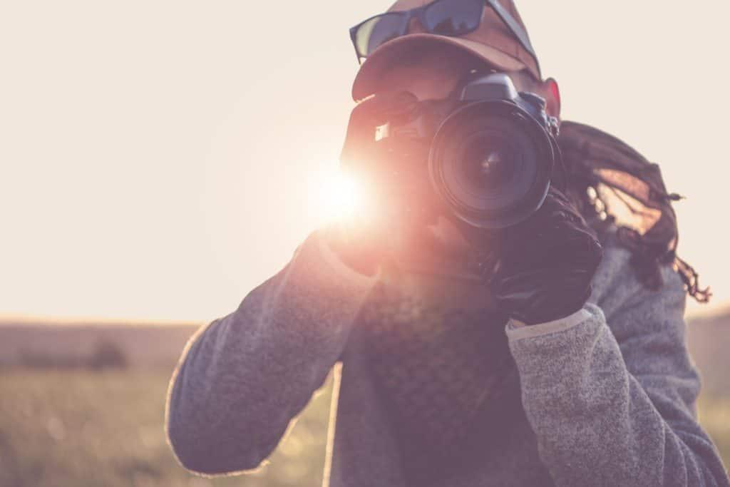 Fotográfus gyakorlás