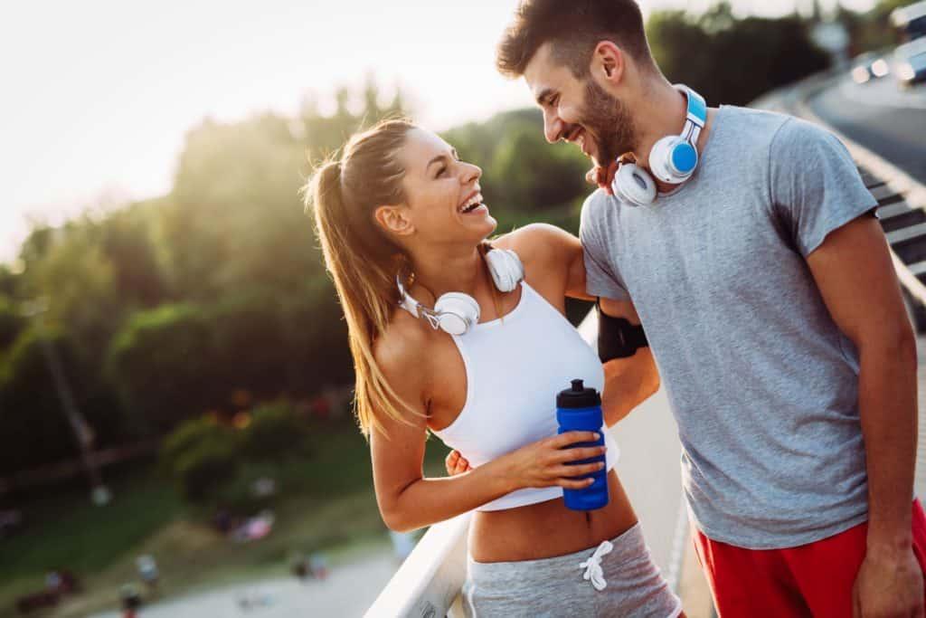 Ismerkedés edzés közben
