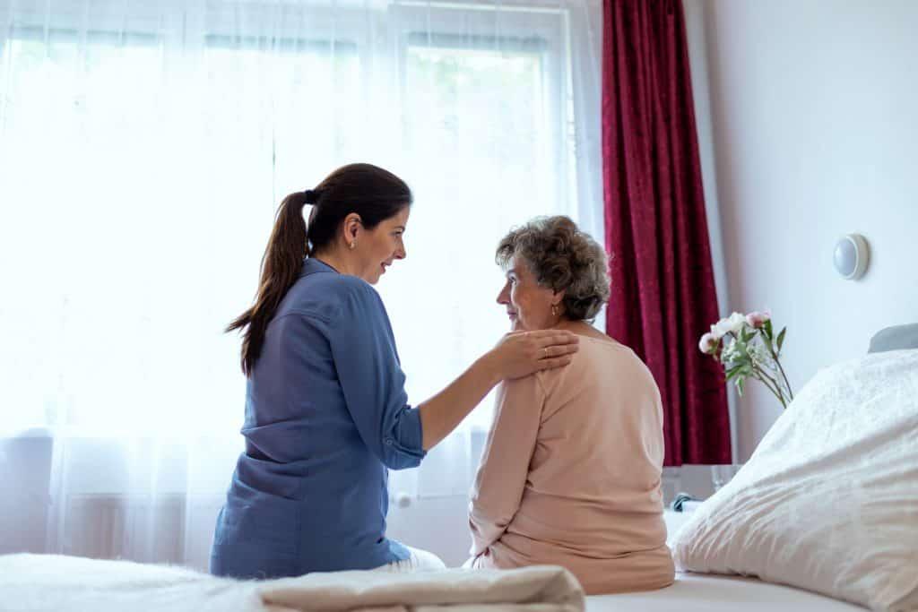 betegek, demens idős emberek gondozása