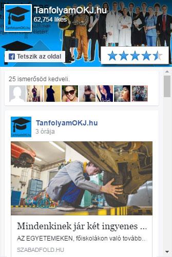 TanfolyamOKJ.hu a Facebookon
