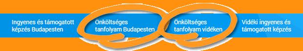 Felnőttképzés, fizetős tanfolyamok Budapesten és vidéken