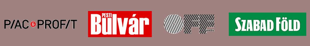 Médiamegjelenések: Piac és Profit, Pesti Bulvár, OFF Média, Szabadföld