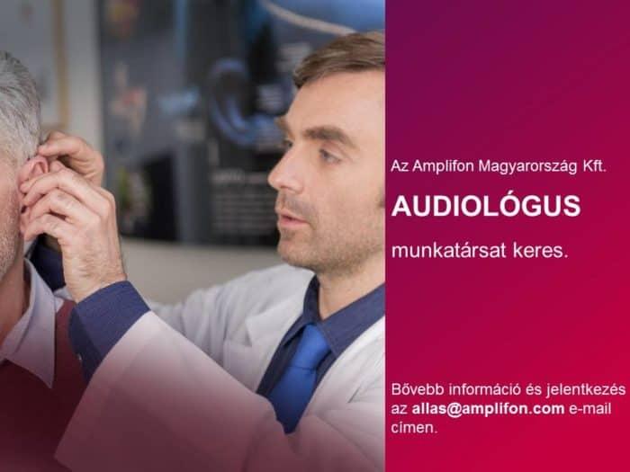 Audiológus munka