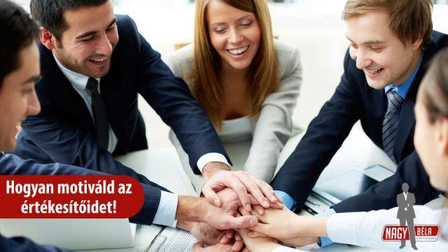 Hogyan motiváld az értékesítőidet?