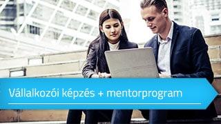 Vállalkozói képzés + mentorprogram