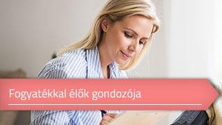 Fogyatékkal élők gondozója online OKJ képzés