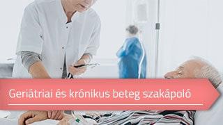 Geriátriai és krónikus beteg szakápoló online OKJ képzés