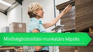 Minőségbiztosítási munkatárs- és vezetőképzés