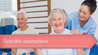 Szociális asszisztens online OKJ képzés