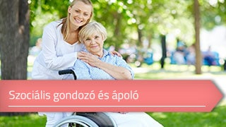 Szociális gondozó és ápoló online OKJ képzés