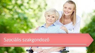 Szociális szakgondozó online OKJ képzés