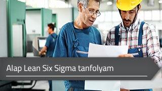 Alap Lean Six Sigma (green belt) online tanfolyam