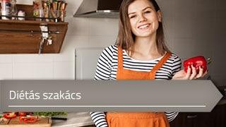 Diétás szakács online OKJ képzés