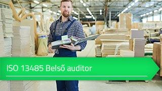 ISO 13485 Belső auditor online tanfolyam