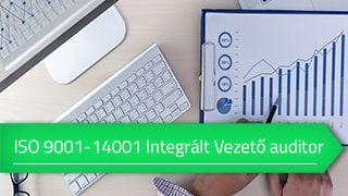 ISO 9001- ISO 14001 Integrált vezető auditor online tanfolyam