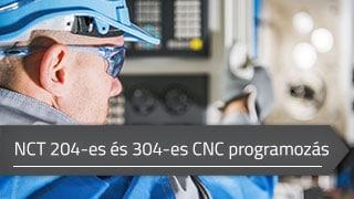 NCT 204-es és 304-es CNC vezérlők programozási alapismeretei online tanfolyam