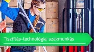 Tisztítás-technológiai szakmunkás online OKJ képzés
