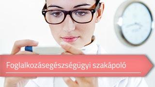 Foglalkozásegészségügyi szakápoló online OKJ képzés