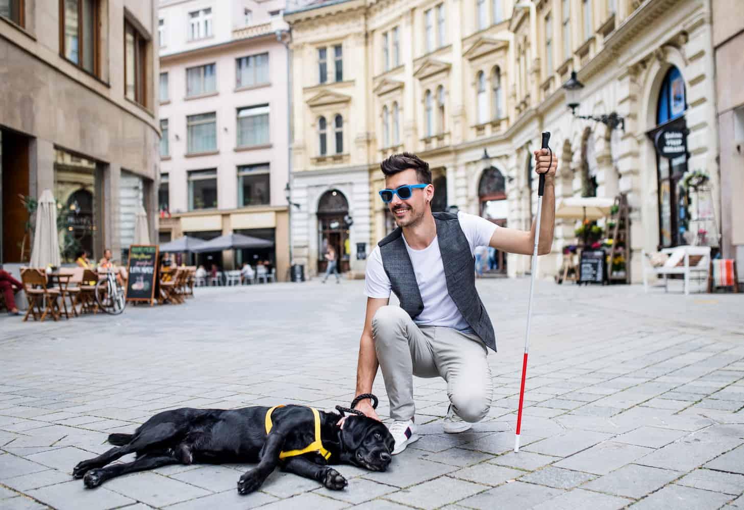 vakvezető kutya kiképzője tanfolyam