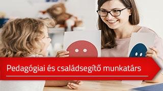 Pedagógiai- és családsegítő munkatárs online OKJ képzés
