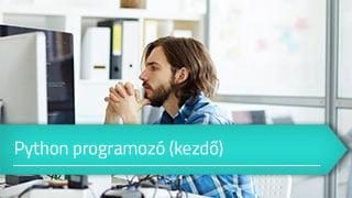 Kezdő Python Programozó online tanfolyam