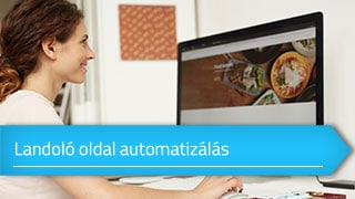 Landoló oldal automatizálás Sales Autopilottal online tanfolyam