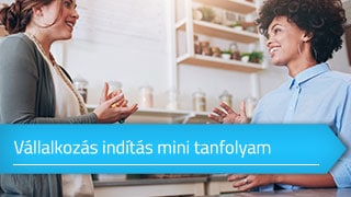 Vállalkozás indítás mini online tanfolyam