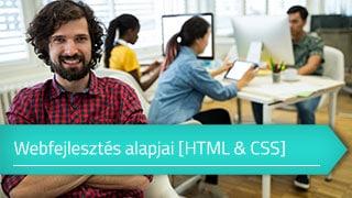 Online Webfejlesztés alapjai (HTML & CSS) tanfolyam